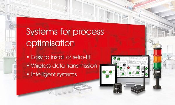 Intelligent Systems for Process Optimisation - WERMA offers three easy to retro-fit Solutions