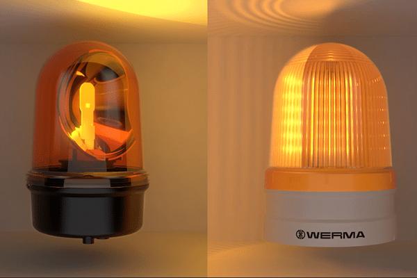 Light effect comparison